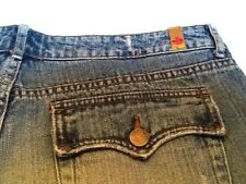 BLUE ASPHALT Jeans~Size 9 Junior~Distressed Boot Cut