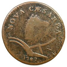 1787 63q R-3 New Jersey Colonial Copper Coin