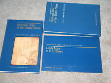 Historical Atlas of the United States Centennial Ed 1988 National Geographic