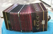 Antique Tanzbar Made in Germany Music Roll Player Concertina Accordion
