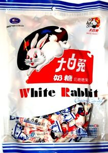 1 Pack of  White Rabbit Chinese Milk Creamy Candy 180g Sweets UK SELLER