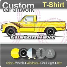 Custom T-shirt for 79 1979 80 1980 81 82 83 4wd Toyota Hilux Pick up Truck Fans