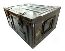 Ammo Box Large British Army Metal Tin Surplus Storage L44 X D34 X H21 CM