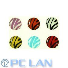 6 PCS Zebra Home Button Sticker for iPhone 3G/3GS/4/4SiPad 1/2/3/4 + Bonus Set
