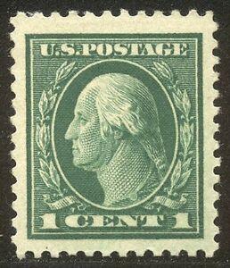 U.S. #498 ENORMOUS JUMBO w/ Cert - 1917 1c Green