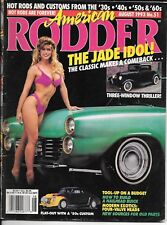 American Rodder Magazine - August 1993 No. 51 - Includes Poster