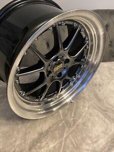 "BBS RK Replica Alloy Wheels 4x100 9j 17"" VW GOLF Full Set 4 Wheels"