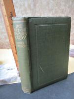 The ART of THOMAS HARDY,1923, Lionel JOHNSON,1st Printing