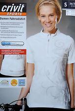 Damen Radshirt Fahrradshirt Bikeshirt Shirt S M L  36 38 40 42 44 Sportshirt NEU