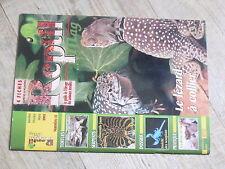 $$ Revue Reptil mag N°11 lezard a collier  tortues Gabon  anaconda jaune  ciment