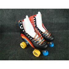 New listing Moxi Skates  Rainbow Rider Roller Skate Set, Size 7, Asphalt Black