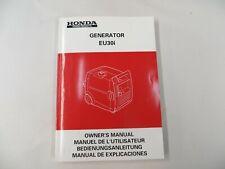 Honda Generator EU30i Owner's Instruction Manual Book Genuine 36Z2860