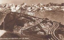 Postkarte - Kesslboden mit Rigi Kulm und die Alpen