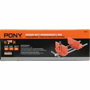Pony 7 In. Medium Duty Woodworker's Vise 27091  - 1 Each