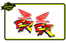 HONDA 1991 CR125-250 RAD SHROUD DECALS MOTOCROSS MX GRAPHICS STICKERS