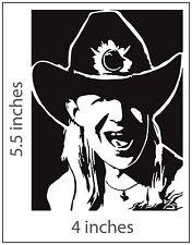 2 JOHNNY WINTER Stickers Cut Vinyl Decal Edgar Tommy Shannon Rick Derring