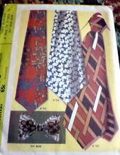 *VTG 1970s MENS TIES & BOWTIE McCALLS Sewing Pattern