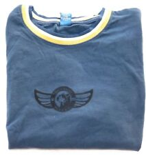 Mens XLARGE HHP Skydog Kite Flying Logo Graphic Grey T Tee Shirt Heavy Cotton