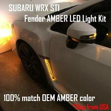 2015 - 2018 SUBARU WRX STI fender LED Turn Signal Light Kit amber color On Sale!