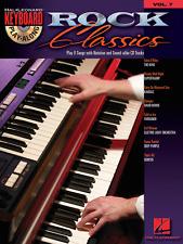 """ROCK CLASSICS"" KEYBOARD PLAY-ALONG VOLUME 7 MUSIC BOOK/CD-BRAND NEW ON SALE!!"