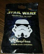 Disney Pins STAR WARS  STORMTROOPER HELMETS  Mystery Pack 5 Pins