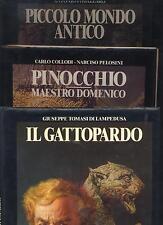 PICCOLO MONDO ANTICO - GATTOPARDO - PINOCCHIO - FAMIGLIA CRISTIANA