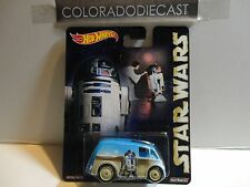 Hot Wheels Star Wars C3PO Quick D-Livery w/Real Riders