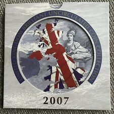 More details for 2007 the royal mint annual 9 coin set collection brilliant uncirculated bunc uk