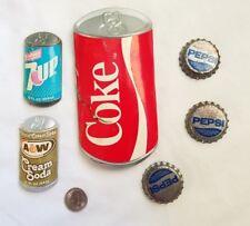 Vintage Arjon Vanderbilt Refrigerator Magnets Retro 80s Coke Cream Soda 7up