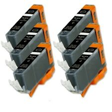 6P Black Quality Ink Cartridge for Canon CLI-221 MX860 MX870 MP980 MP990