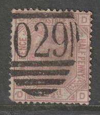 1876 21/2d Rosy Mauve sg141 pl.3 used
