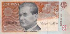 Billet banque ESTONIE ESTONIA 5 KROONI 1994 NEUF UNC