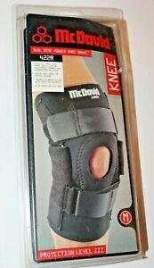 McDavid Dual Disk Hinged Knee Brace 422R Size Medium - Fits Left or Right Knee