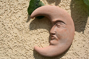 terracotta Sonne  terrakotta Wandbild ca 53cmx 53 cm x7cm d