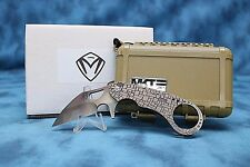 MEDFORD KNIFE & TOOL - BURUNG - LASER ENGRAVING ON HANDLE!!! PERFECT UTILITY!!!