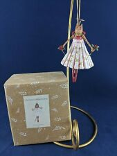 """PATIENCE BREWSTER """"GRACE ROSE ON HER TOES"""" CHRISTMAS ORNAMENT"""