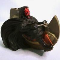 Vintage Star Wars Episode 1 Phantom Menace DARTH MAUL Speeder Coin Piggy Bank