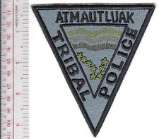 American Indian Tribe Police Alaska Atmautluak Tibal Police Department grey
