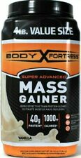 Body Fortress Super Advanced Ultimate Muscle Mass Gainer 40g Protein 4 lb Tub