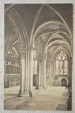 """CPA """" OXFORD - Christ Church - Cathedral, North Choir Aisle & Old Saxon Church"""