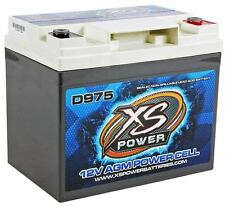 XS Power D975 2100 Amp AGM Power Cell Car Audio Battery + Terminal Hardware