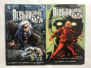 Resurrection Man Vol 1 & 2 Dead Again A Matter of Death & Life DC Comics New 52