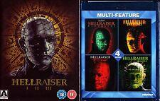HELLRAISER 7 FILM BLU RAY SET 1-7