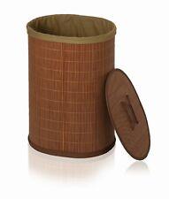 Wäschekorb Wäschebox Wäschetruhe Möve BAMBOO BASKET Bambus oval