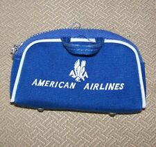 VINTAGE LITTLE AMERICAN AIRLINES STEWARDESS BAG FOR BARBIES OUTFIT # 984 ,NICE~