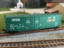 New ListingMicro-Trains Brand, N Scale 50' Tropicana Box Car #13085 Mt knuckle couplers