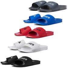 Jack & Jones Slides Sandals Mens Slip On Padded Soft Cushioned Logo Flip Flops
