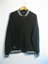 POLO RALPH LAUREN | Men's Black Sweatshirt Jersey Varsity College Jacket | M
