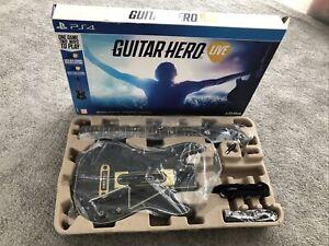 GUITAR HERO LIVE PS4 - Game, Guitar & Dongle (Boxed)
