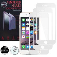 3X Panzerglas Apple iPhone 6 Plus/ 6s Plus Echtglas Display Schutzfolie WEISS